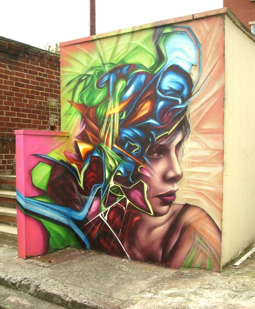 Replete Street Art UK